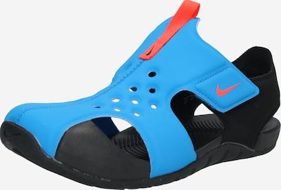 Nike Sportswear Badeschuh 'Sunray Protect' in blau / orange / schwarz, Produktansicht