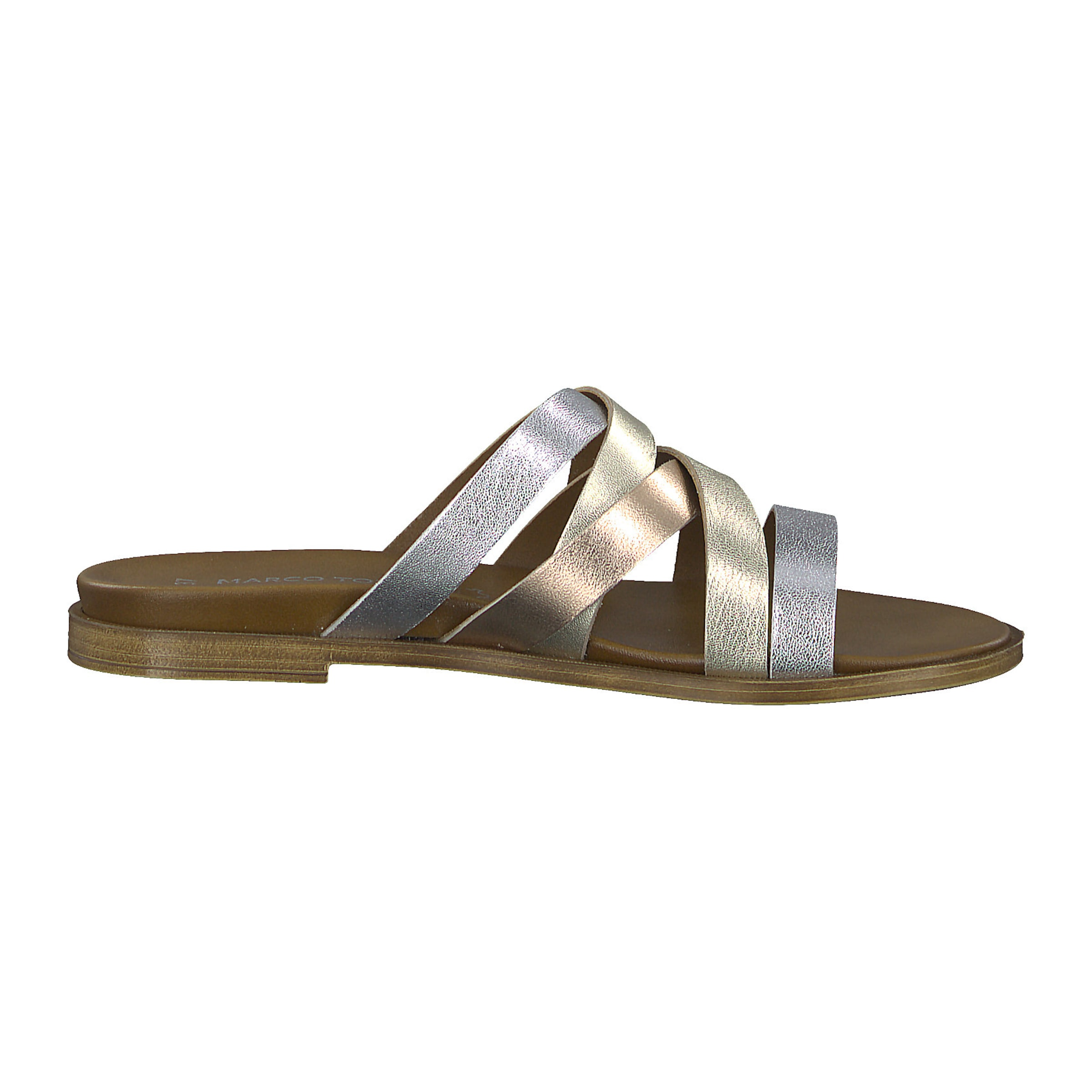 Marco GelbGold Tozzi In Pantolette Silber 6yYbf7gv