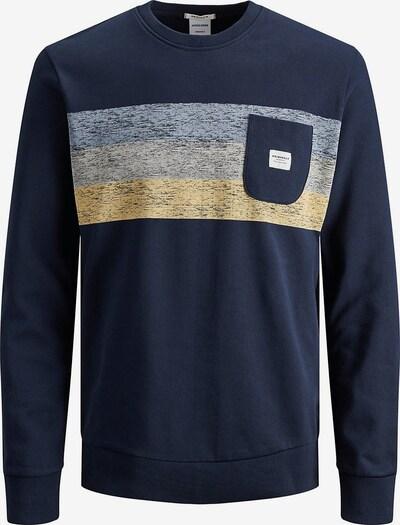 Jack & Jones Junior Sweatshirt 'Jorlangley' in navy / rauchblau / rauchgrau / pastellpink, Produktansicht