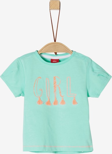 s.Oliver Junior T-Shirt in mint / koralle, Produktansicht