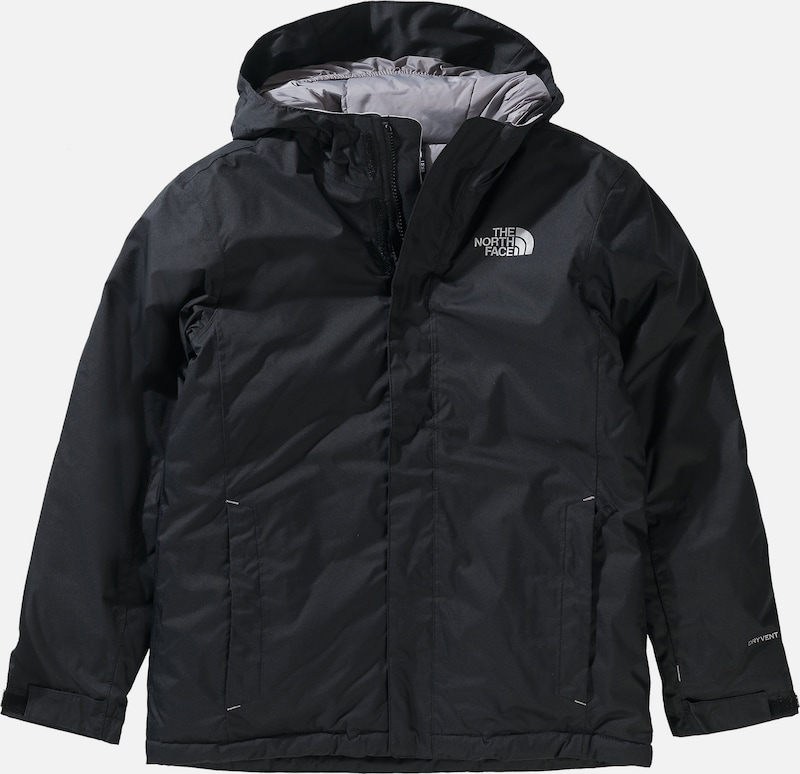 THE NORTH FACE Winterjacke 'Snow Quest CB8F' in schwarz, Produktansicht