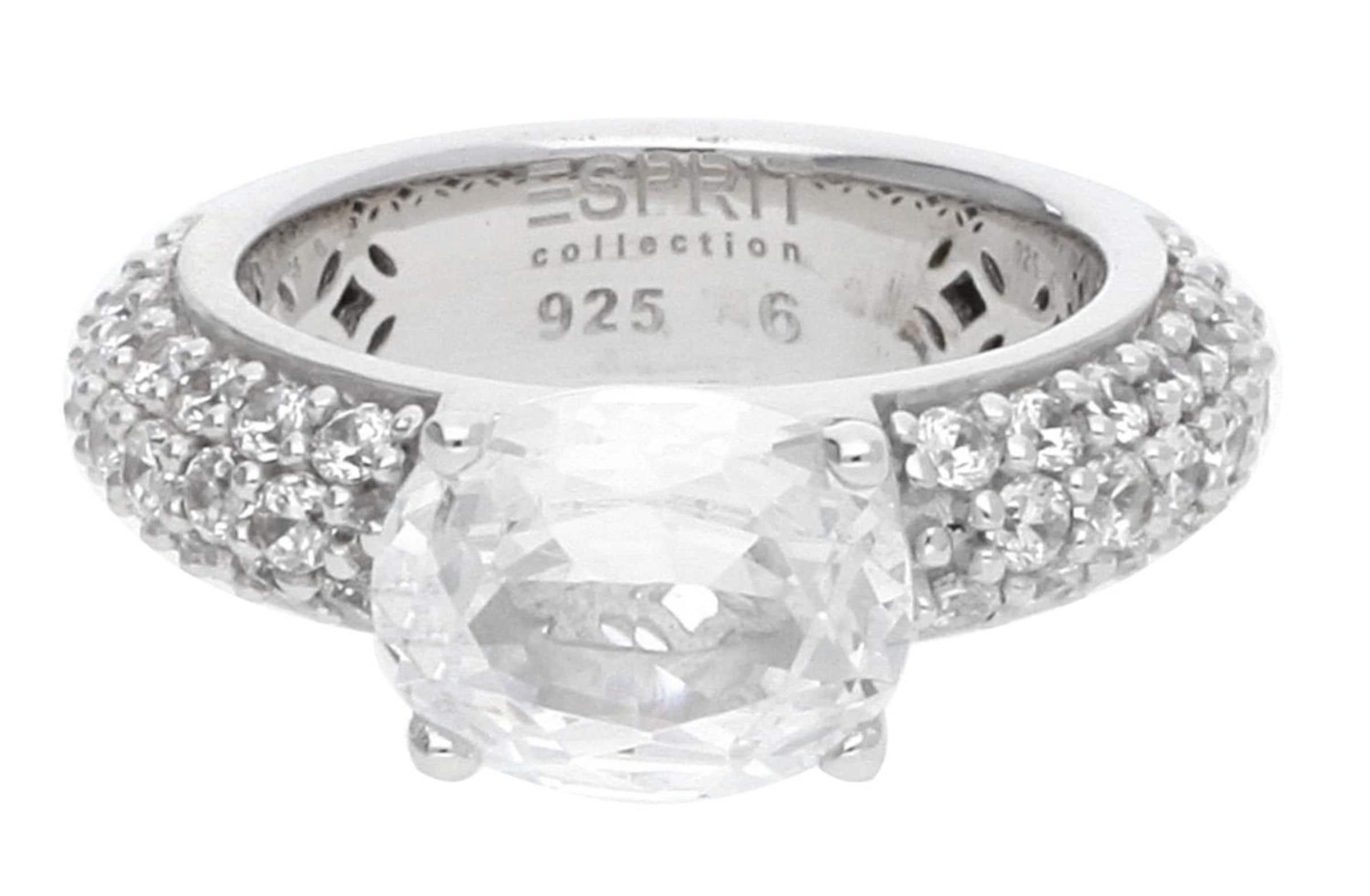 ESPRIT Fingerring Amorbess mit Zirkonia-Steinbesatz ELRG91652A Billig Verkauf Beliebt cTrSIwAjR