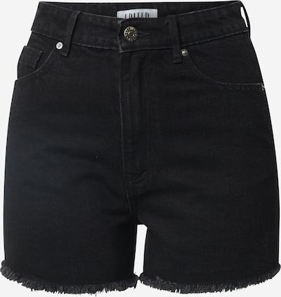 EDITED Jeansshorts 'Jacey ' in schwarz, Produktansicht