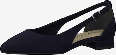 TAMARIS Ballerina in nachtblau, Produktansicht