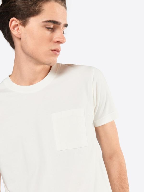 Nudie Jeans Co T-Shirt mit Brusttasche 'Kurt'