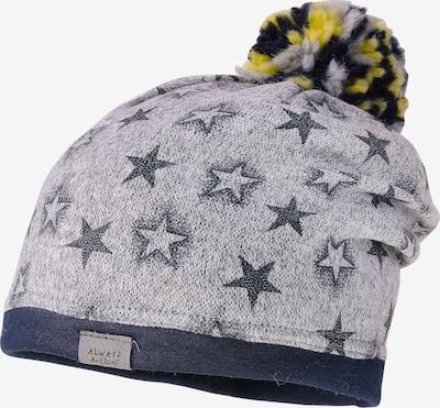 MAXIMO Mütze in navy / gelb / grau, Produktansicht