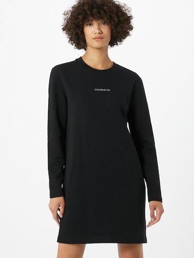 Calvin Klein Šaty - černá: Pohled zepředu