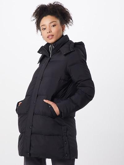 OPUS Mantel 'Harine' in schwarz, Modelansicht