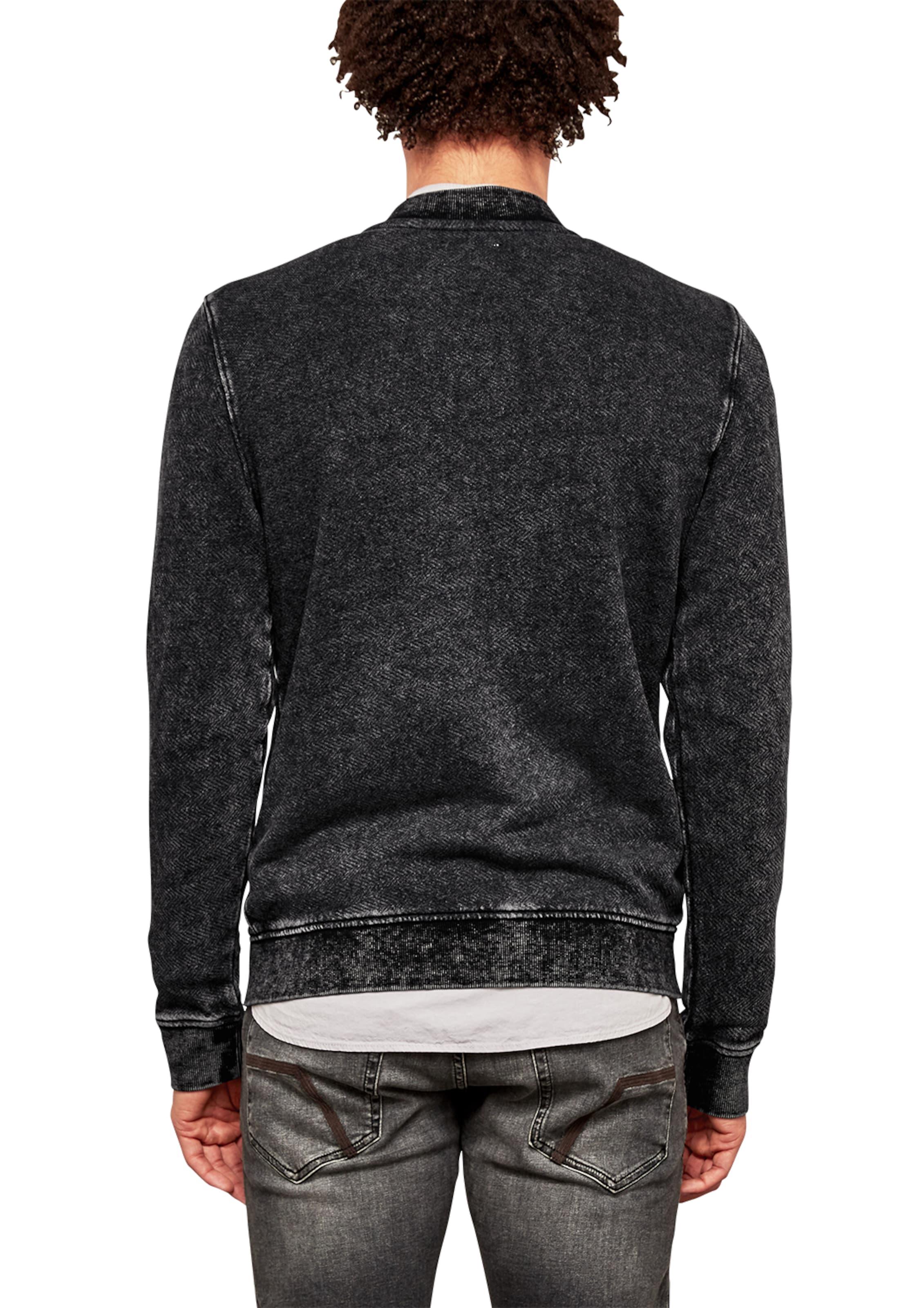 Q/S designed by Sweatshirt-Jacke im Blouson-Style Neueste Rabatt Niedrig Kosten Billig Verkauf Versand Niedriger Preis Gebühr Günstig Kaufen Neue Stile IVZgFjI