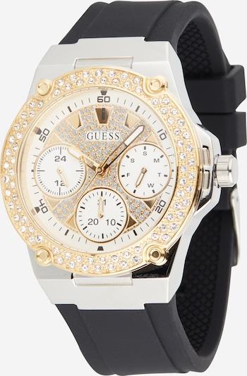 Analoginis (įprastinio dizaino) laikrodis 'Zena' iš GUESS , spalva - Auksas / juoda / Sidabras / balta, Prekių apžvalga