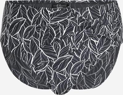 Swim by Zizzi Bas de bikini en noir, Vue avec produit