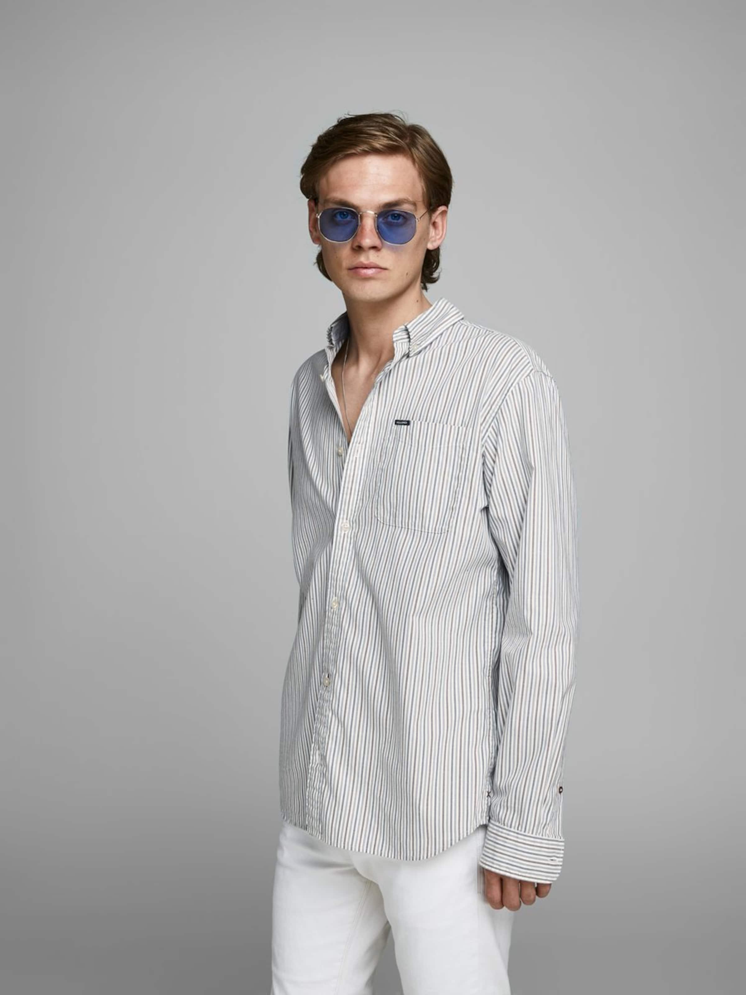 Jackamp; Offwhite BeigeGrau Hemd In Jones l15cKF3uTJ