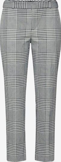 Banana Republic Pantalon 'AVERY EXPLODED HOUNDSTOOTH' en noir / blanc, Vue avec produit