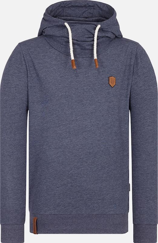 Naketano Sweatshirt 'Diese Nüsse' in taubenblau  Neue Kleidung in dieser Saison