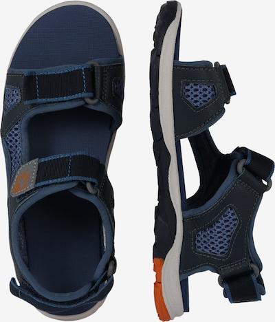 JACK WOLFSKIN Schuhe 'PUNO BEACH' in blau: Seitenansicht