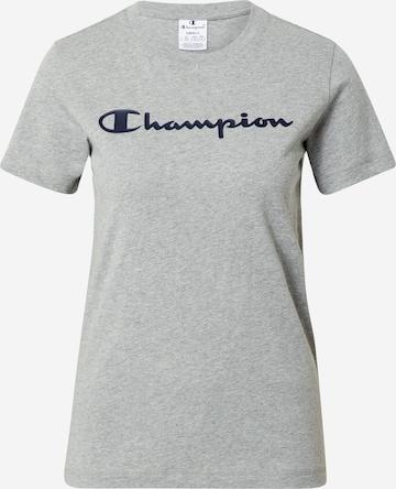 Champion Authentic Athletic Apparel Tričko - Sivá
