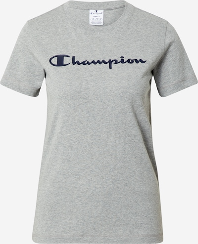 Champion Authentic Athletic Apparel Shirt in de kleur Blauw / Grijs gemêleerd, Productweergave