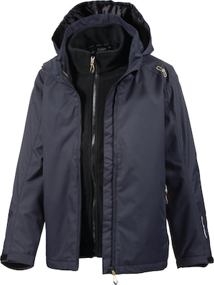 CMP Outdoorjacke 'BOY JACKET ZIP HOOD+DETACHBLE INN.JACKET'