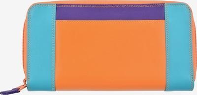 mywalit Wallet in Turquoise / Neon purple / Orange / Neon orange / Neon pink, Item view