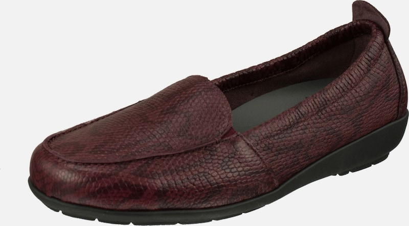 Natural Feet Schuhe 'Mona' in bordeaux: Frontalansicht