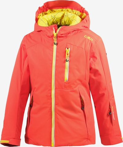 CMP Skijacke in gelb / rot, Produktansicht