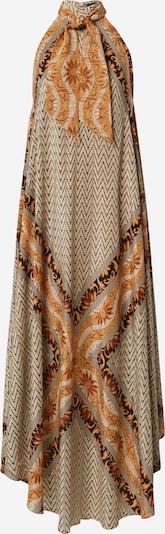 Mes Demoiselles Kleid 'Scelerate' in beige / orange / schwarz, Produktansicht