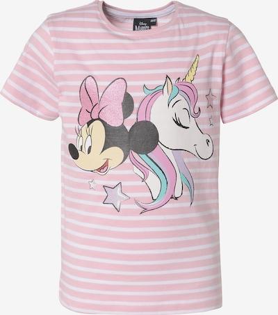 DISNEY T-Shirt 'Minnie Mouse' in mischfarben / rosa / weiß, Produktansicht