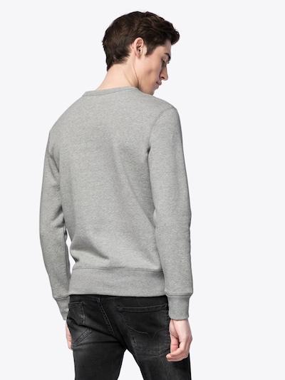 GAP Sweatshirt in graumeliert: Rückansicht