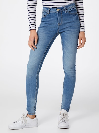 JACQUELINE de YONG Jeans 'JDYMAGIC SKINNY RW LIGHT BLUE NOOS DNM' in blue denim: Frontalansicht