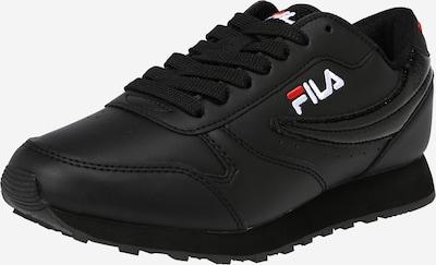 FILA Baskets basses 'ROSSO' en noir, Vue avec produit