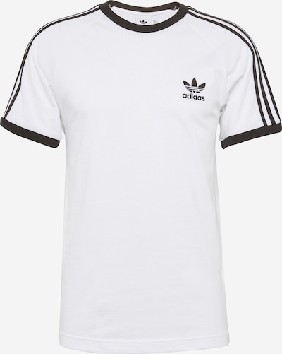 ADIDAS ORIGINALS Shirt '3-Stripes' in de kleur Zwart / Wit, Productweergave