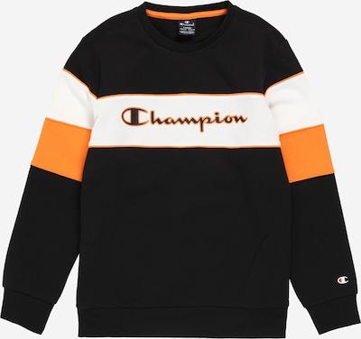 Champion Authentic Athletic Apparel Mikina - oranžová / černá / bílá: Pohled zepředu
