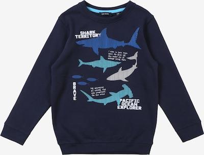 BLUE SEVEN Sweatshirt in dunkelblau / mischfarben, Produktansicht