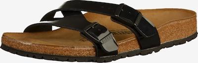 BIRKENSTOCK Pantolette 'Yao Balance' in schwarz, Produktansicht
