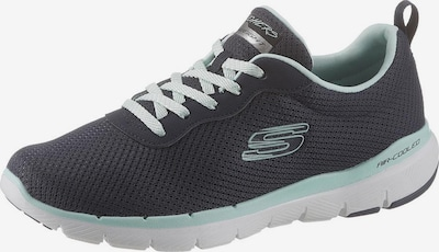 Sneaker bassa 'Flex Appeal 3.0' SKECHERS di colore navy / acqua, Visualizzazione prodotti