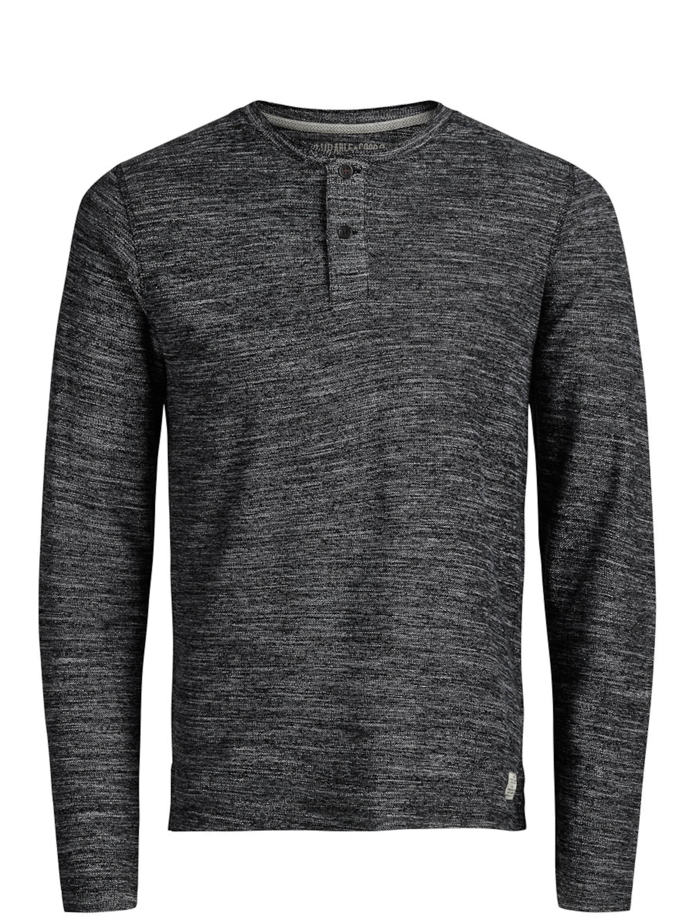 JACK & JONES T-Shirt mit langen Ärmeln Billig 2018 Neu q7vHWd9
