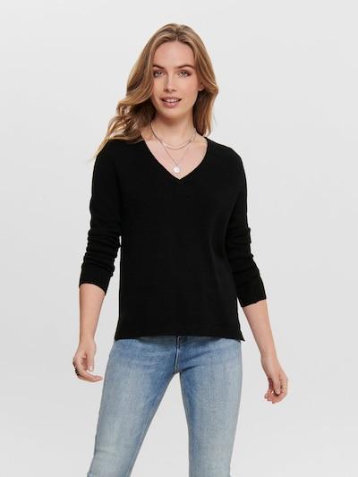 ONLY Pullover 'LESLY' in schwarz, Modelansicht
