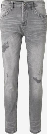 TOM TAILOR DENIM Jeanshosen Tapered Conroy Stretch Jeans mit Destroys in grau, Produktansicht