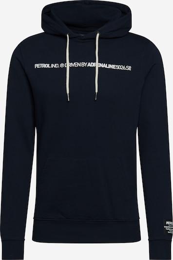 Petrol Industries Sweater majica u morsko plava / bijela, Pregled proizvoda