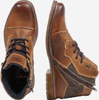 Auliniai batai su raišteliais 'Vandal II' iš bugatti , spalva - ruda (konjako): Vaizdas iš šono