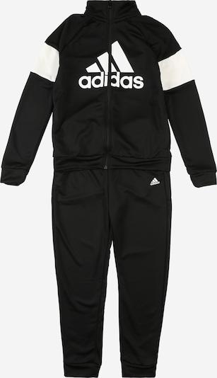 ADIDAS PERFORMANCE Sportanzug 'YB TS BOS' in schwarz / weiß, Produktansicht