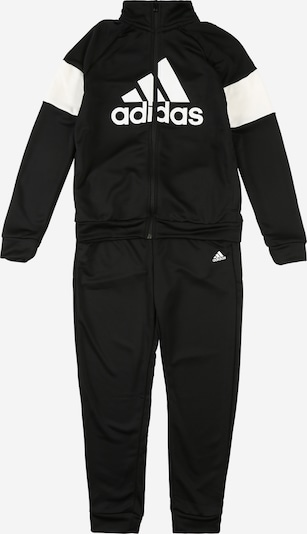Costum de trening 'YB TS BOS' ADIDAS PERFORMANCE pe negru / alb, Vizualizare produs