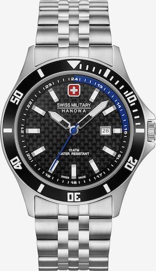 SWISS MILITARY HANOWA Uhr in blau / schwarz / silber, Produktansicht