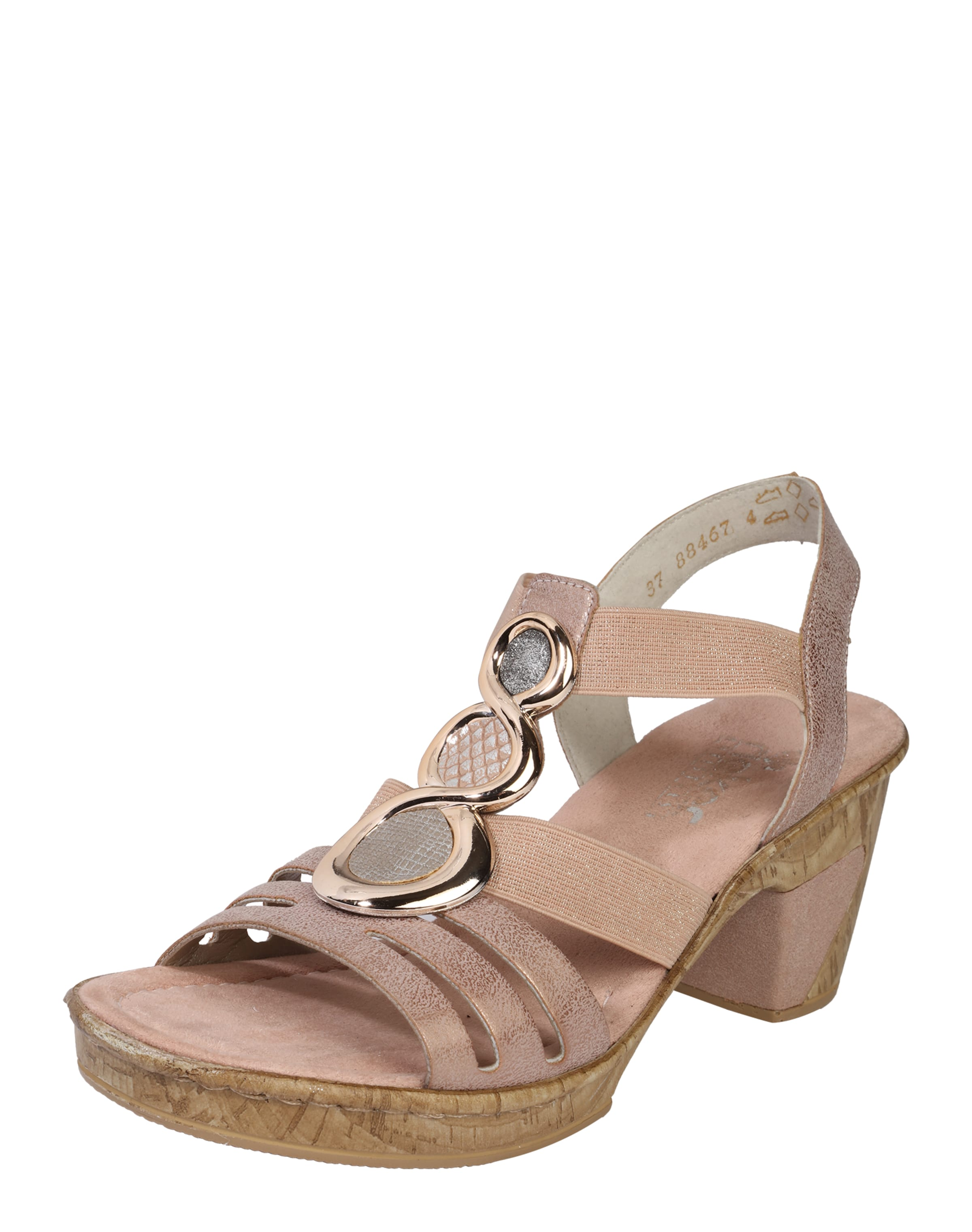 RIEKER 'Sandal stones' mit auffälligem Besatz Rabatt Billigsten Neu Werden Rabatt Erwerben Amazon Günstiger Preis eUsI64