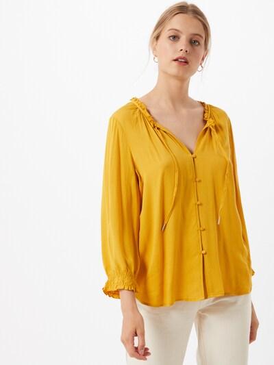 Tunika iš Q/S designed by , spalva - aukso geltonumo spalva, Modelio vaizdas