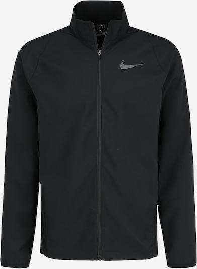 NIKE Športna jakna 'Dry Team' | črna barva, Prikaz izdelka
