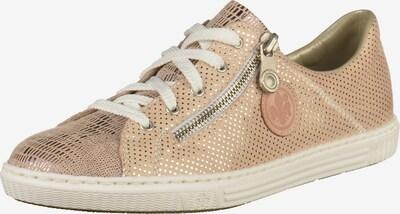 RIEKER Sneaker in altrosa / silber, Produktansicht