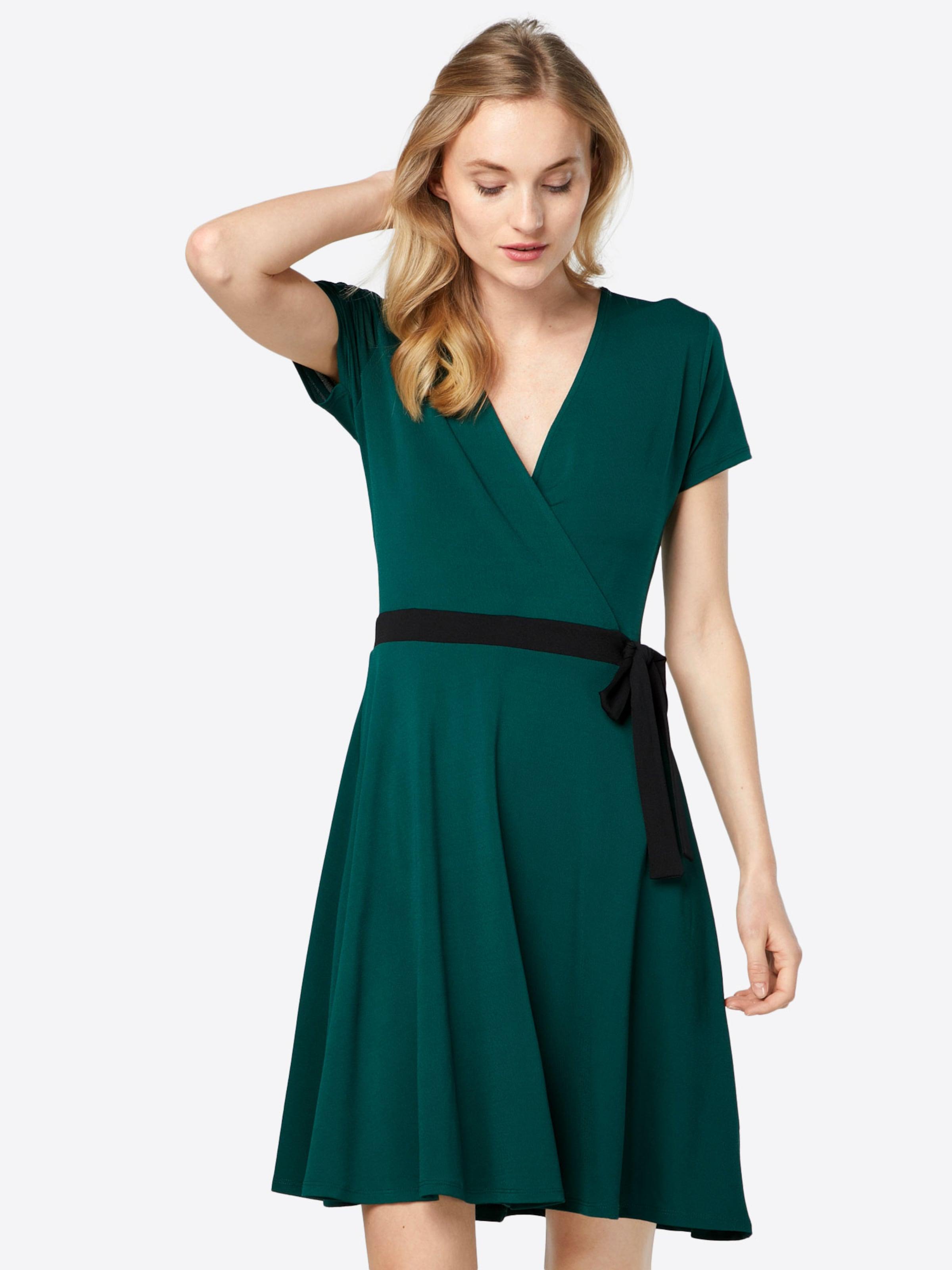 Kleid Jolina smaragd / schwarz About You Billigshop Billig Verkauf Angebote Günstig Kaufen Blick Footlocker Abbildungen Günstigen Preis Günstig Kaufen Low-Cost 6lNcNu