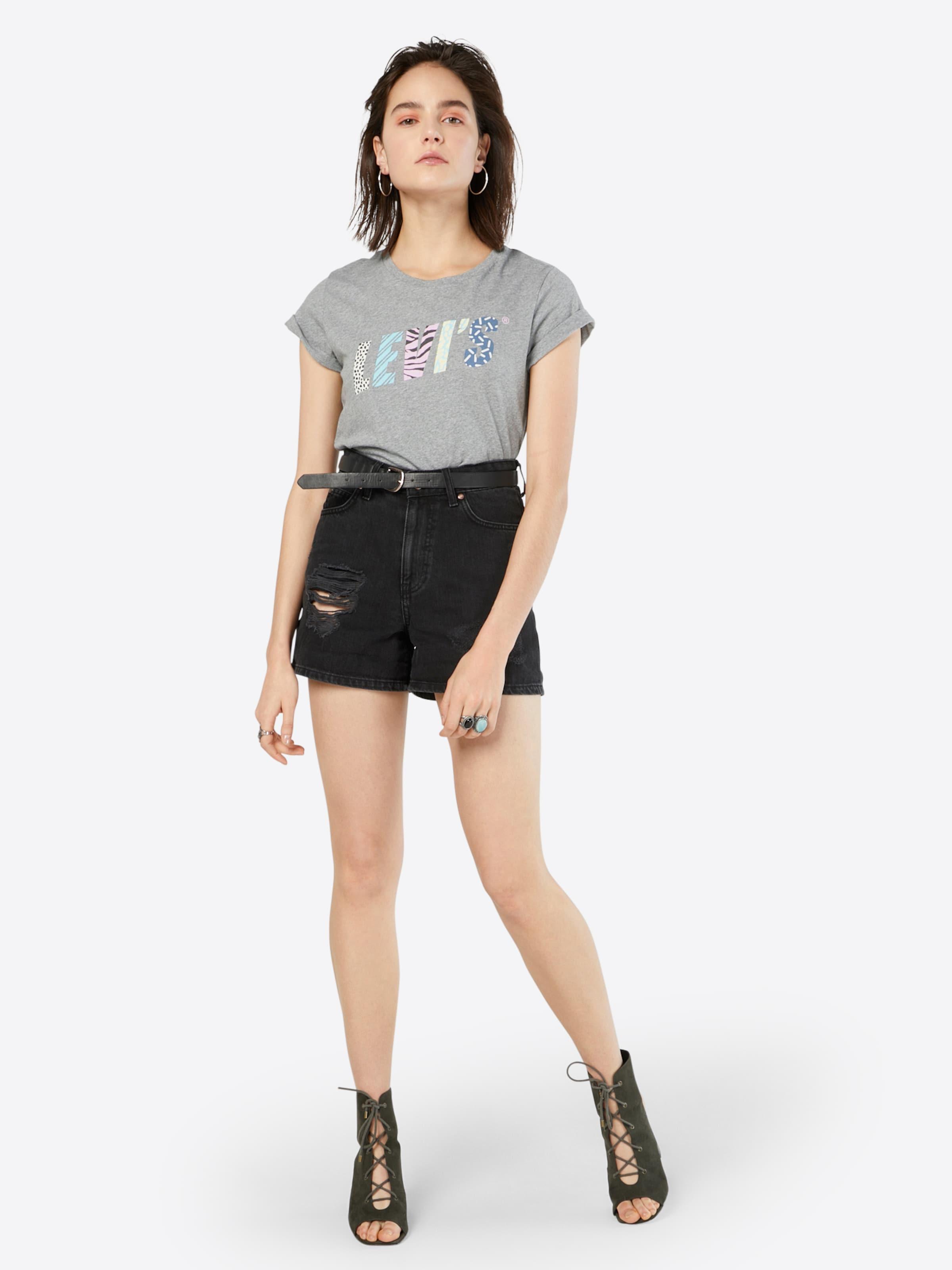 LEVI'S T-Shirt 'THE PERFECT' Preiswerte Art Und Stil Bester Ort Zu Kaufen Steckdose Am Besten Shop-Angebot Online Rabatt-Spielraum FDMeL1jZt