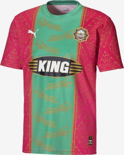 PUMA Tricot 'Bangkok' in de kleur Goud / Groen / Pink / Zwart / Wit, Productweergave